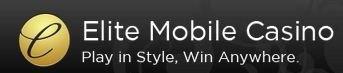 Elite mobile casino logo