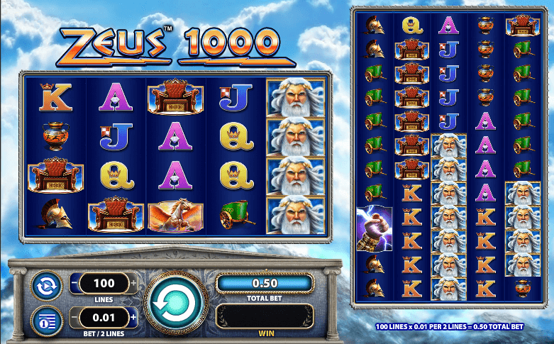 Zeus the Thunderer II Slots - Play Online for Free