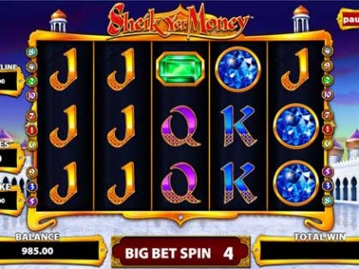 Sheik Yer Money Slots - Free Slot Machine Game - Play Now