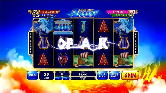 Age Of Gods Slot