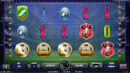 Spiele Football: Champions Cup Slot Machine - Video Slots Online