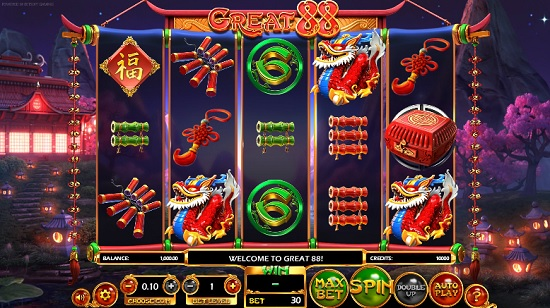 Play Great 88 Slot Machine Completely FREE