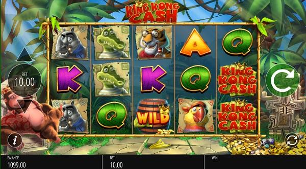 Slot king kong cash