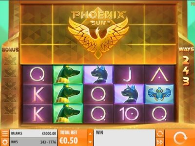 Phoenix Sun Slot screenshot big