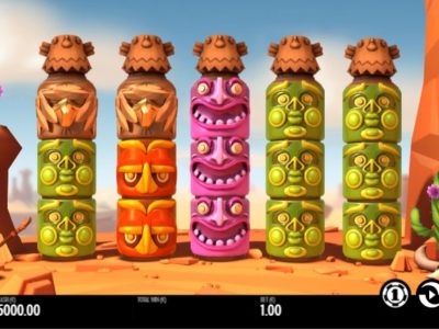 turning totems slot screenshot big