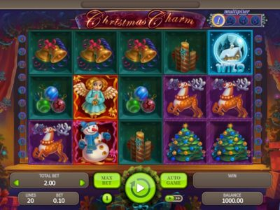 Christmas Charm slot screenshot big