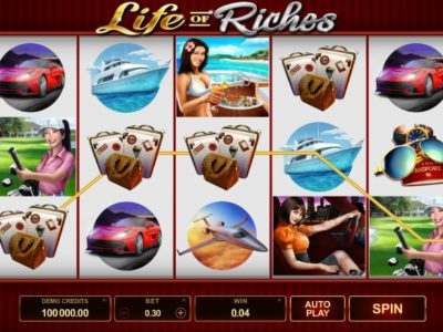 life of riches slot screenshot big