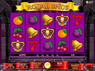 Royal Spins Slot screenshot big