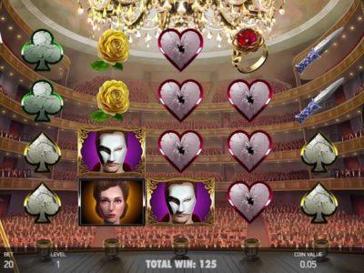 The Phantom of the Opera slot screenshot big