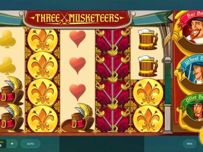 three musketeers slot screenshot big