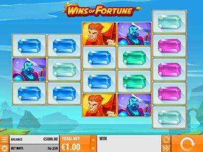wins of fortune slot screenshot big