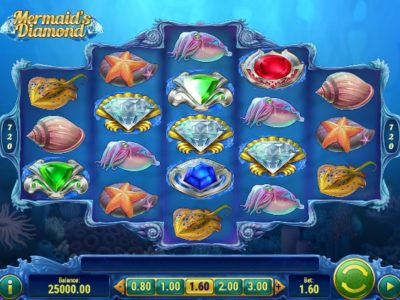 Mermaids Diamond Slot screenshot big