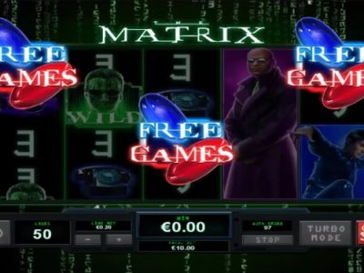 The Matrix Slot screenshot big