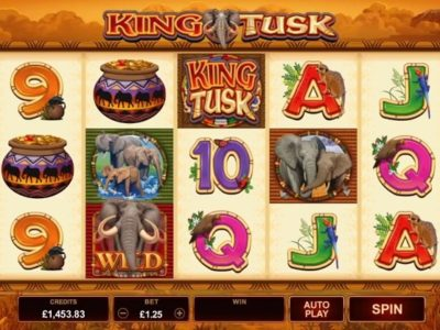 king tusk slot screenshot big