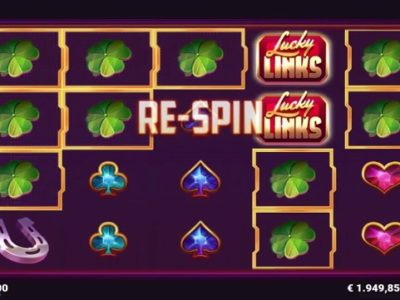 lucky links slot screenshot big