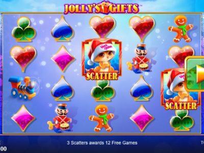 Jolly's Gifts slot screenshot big